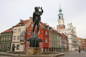 Fountain in Poznan