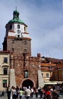 Krakowska Gate in Lublin