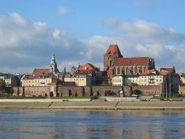 Panoramic view of Torun
